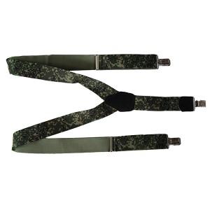 Подтяжки армейские зеленая цифра