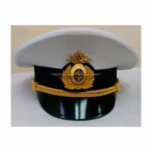 Фуражка офисная ВМФ белая