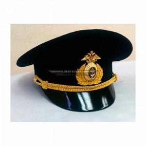 Фуражка офисная ВМФ черная