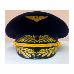 Фуражка офисная ВВС с машинной вышивкой