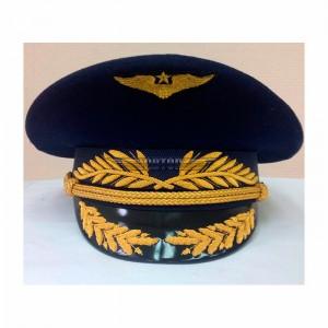 Фуражка офисная ВВС с ручной и машинной вышивкой