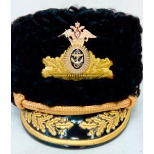 Шапка с машинной вышивкой ВМФ