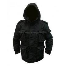 Куртка Смок зима Черный