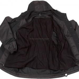 Костюм Горка 3 черная съёмный флис