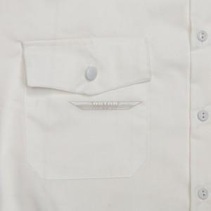 Рубашка полиции белая парадная с коротким рукавом