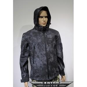 Куртка софтшелл питон ночь