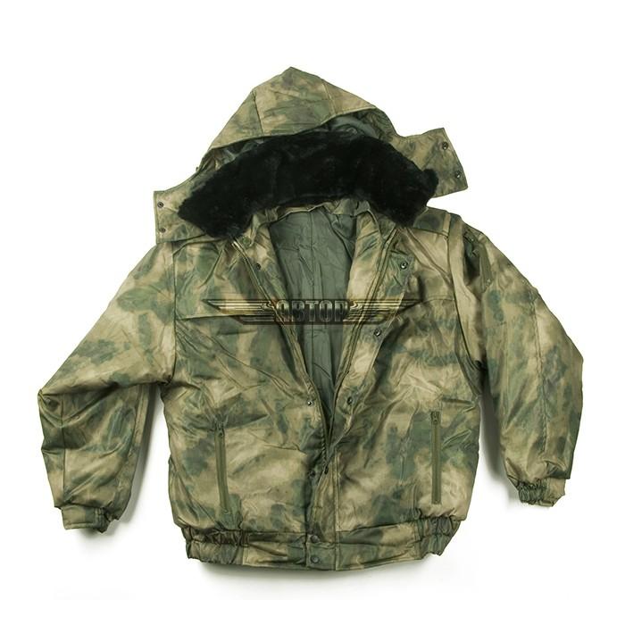 Куртка мох оксфорд зимняя
