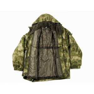 Куртка Смок зима в расцветке мох